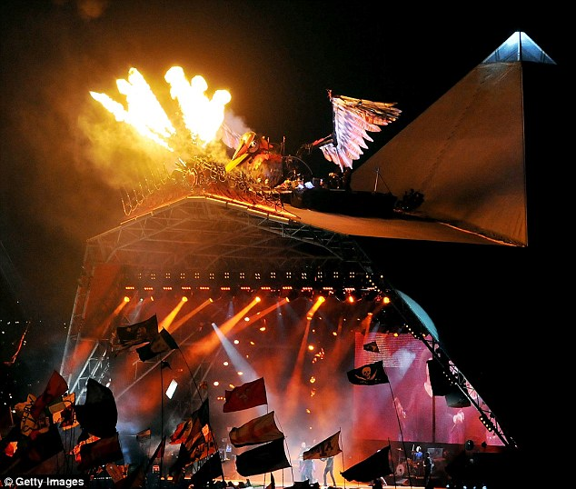 bird fire glasto